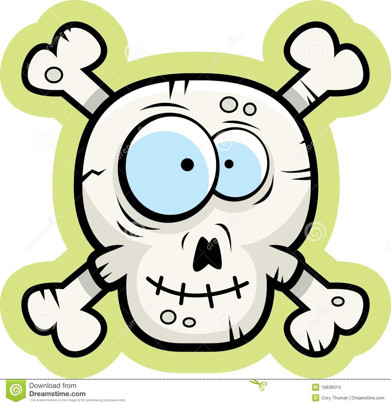 1300x1352 Smiling Skull Clipart