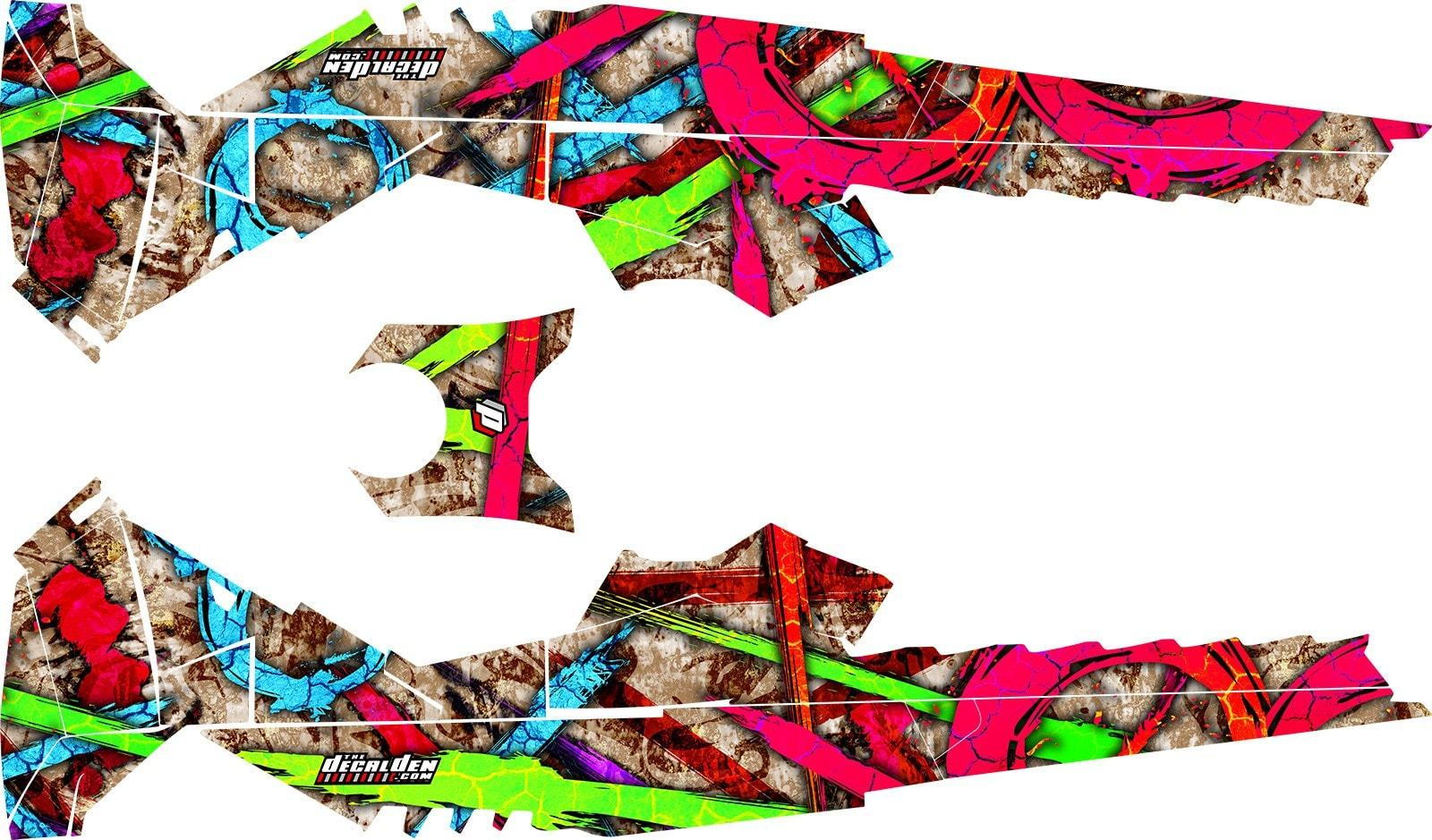 1600x939 Graffiti Xm Premium Grade Sled Wrap Ski Doo Xm Rev Summit Sm
