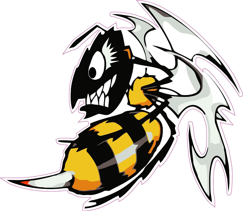 1500x1300 Ski Doo Killer Bee Decal