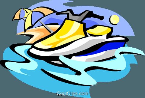 480x327 Sea Doo Royalty Free Vector Clip Art Illustration Vc004617