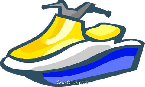 480x288 Sea Doo Royalty Free Vector Clip Art Illustration Vc004626