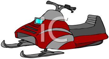 350x192 Cartoon Snowmobile