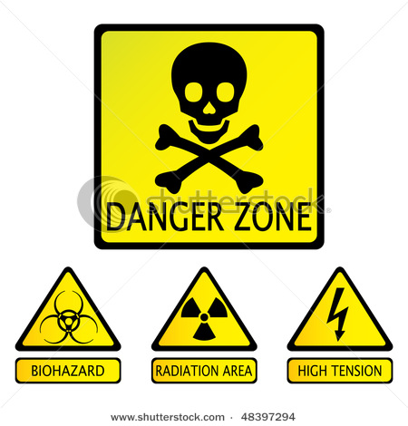 450x470 Clipart Danger Cross Sign With Skull And Bones Symbol Vector Clip