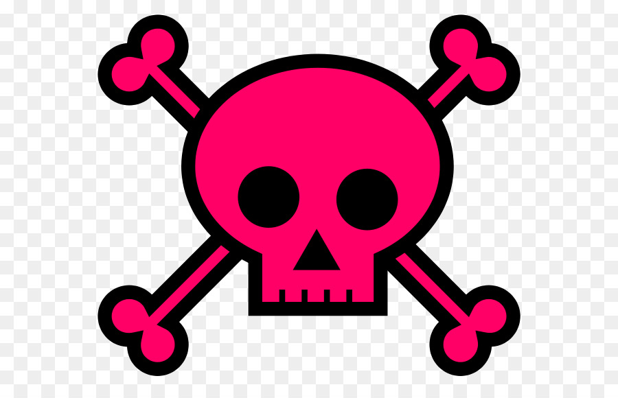 900x580 Girly Girl Skull And Crossbones Clip Art