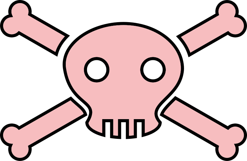 800x523 Skull And Crossbone Clipart