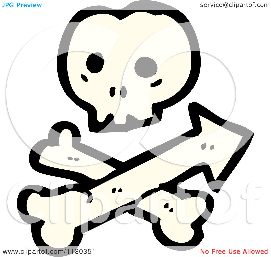 1080x1024 Cartoon Of A Skull And Crossbones With Arrow