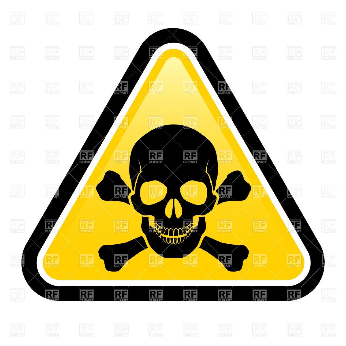 1200x1200 Free Skull Poison Clipart