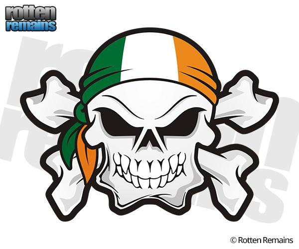 600x500 Ireland Clipart Skull