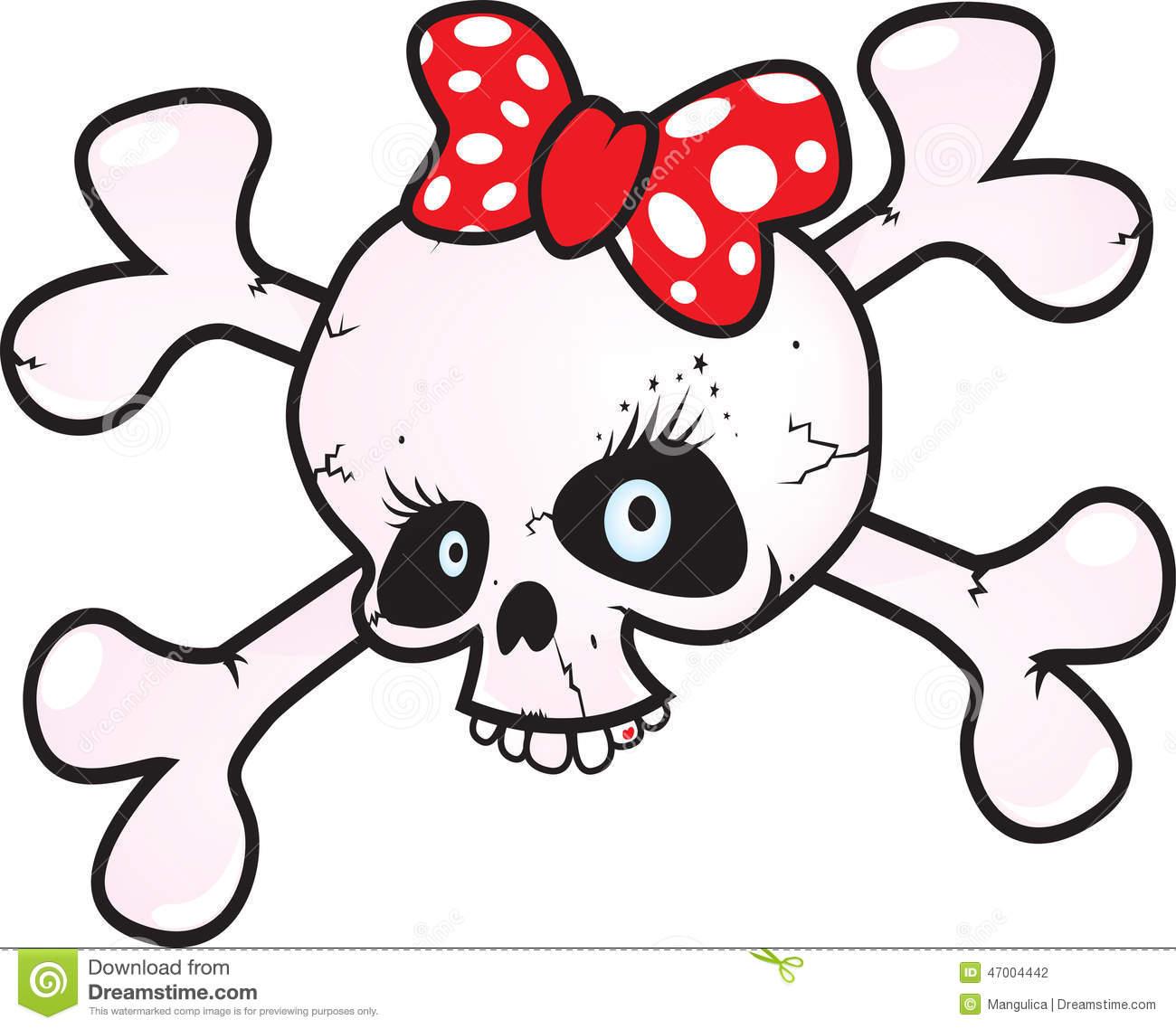 1300x1138 Clip Art Girl Skull Clip Art