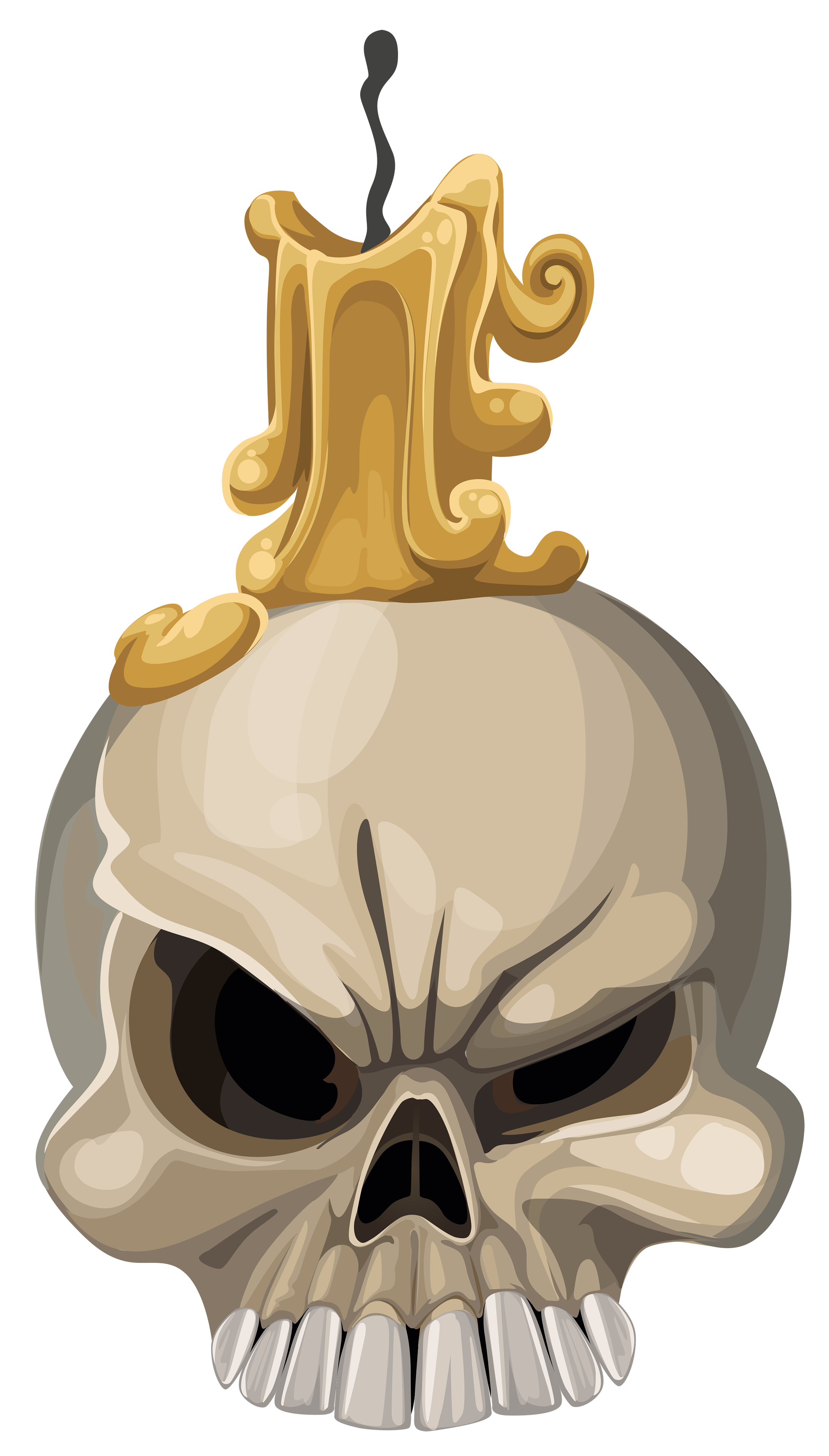2177x3824 Halloween Skull With Candle Png Clipart Imageu200b Gallery