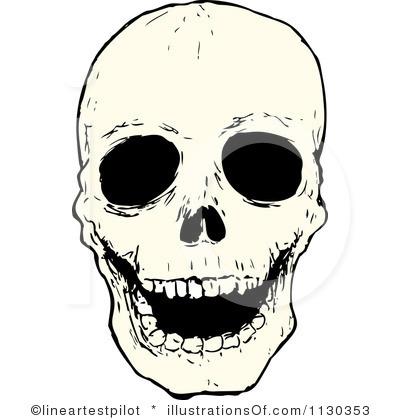 400x420 Skull Clip Art Background Clipart Panda