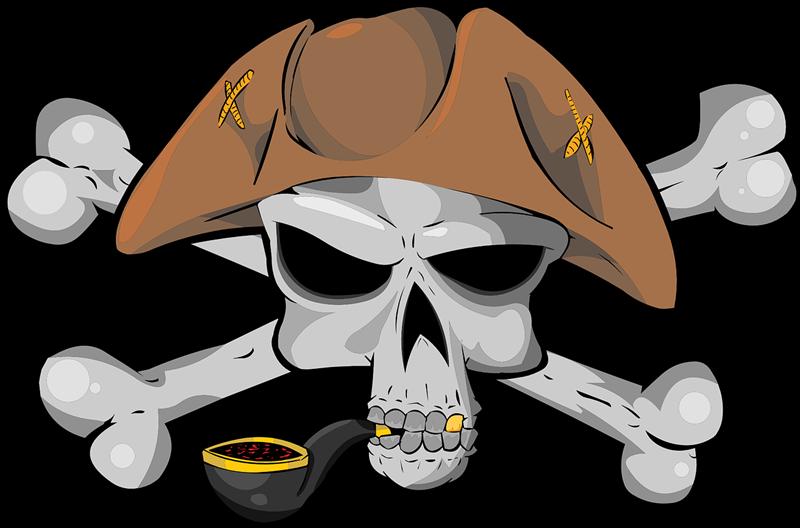800x528 Skull Clipart Pirate Skull