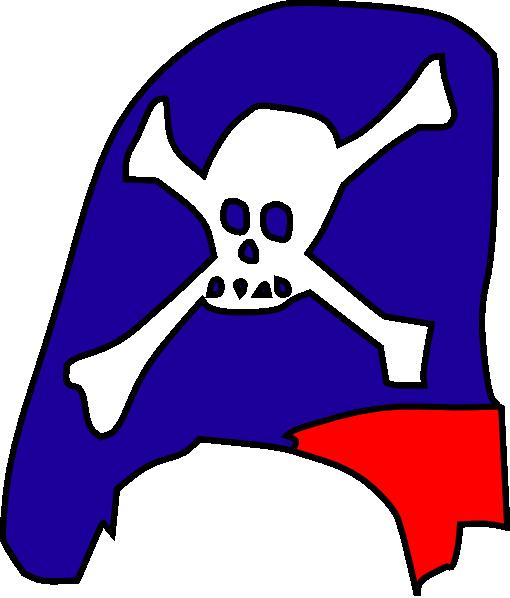 510x598 Cartoon Pirate Hat Skull Bones Clip Art Free Vector 4vector