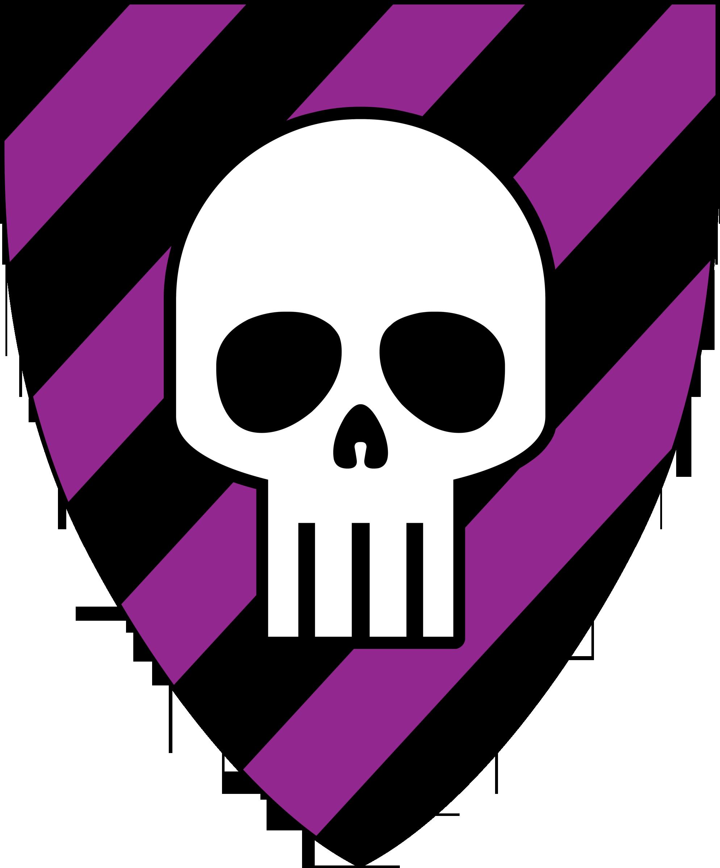 1988x2401 Skull Clip Art Image Black