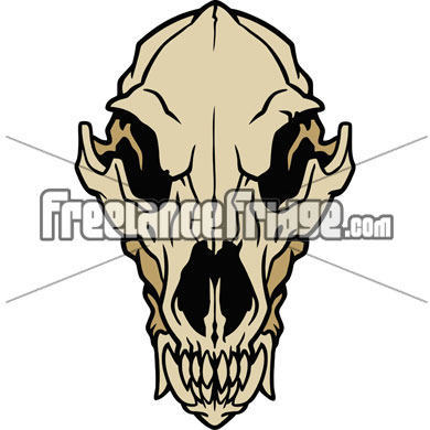 390x390 Collection Of Wolf Skull Clipart High Quality, Free Cliparts