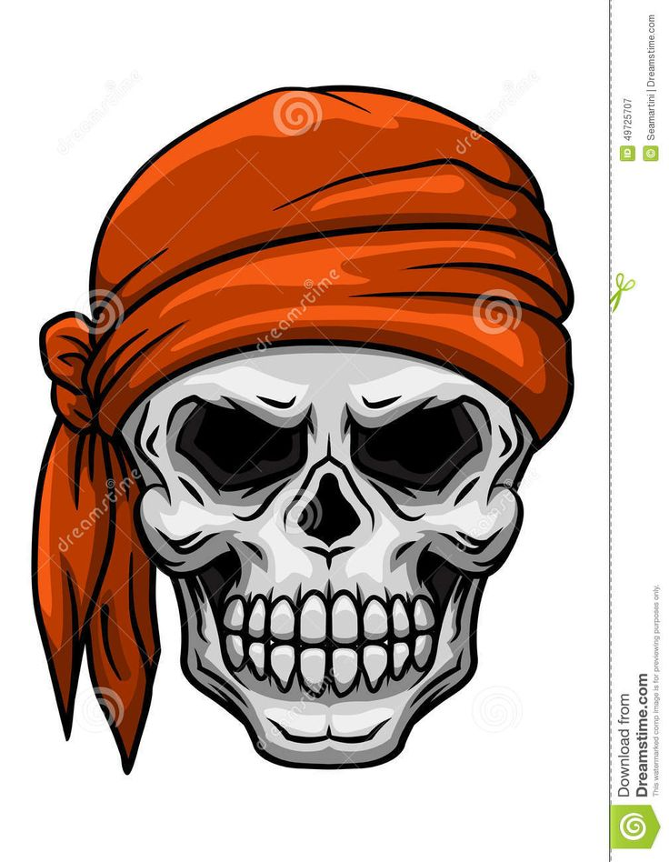Skull Tattoo Clipart