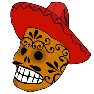 300x300 Free Skull Clip Art For The Hard Headed