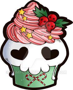236x290 Skull Clipart Cupcake'12130