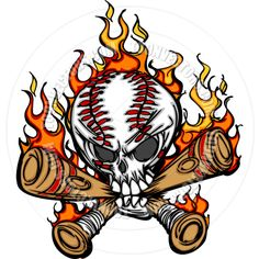 236x236 Softball On Fire Clip Art Fast Pitch Softball Face With Flaming