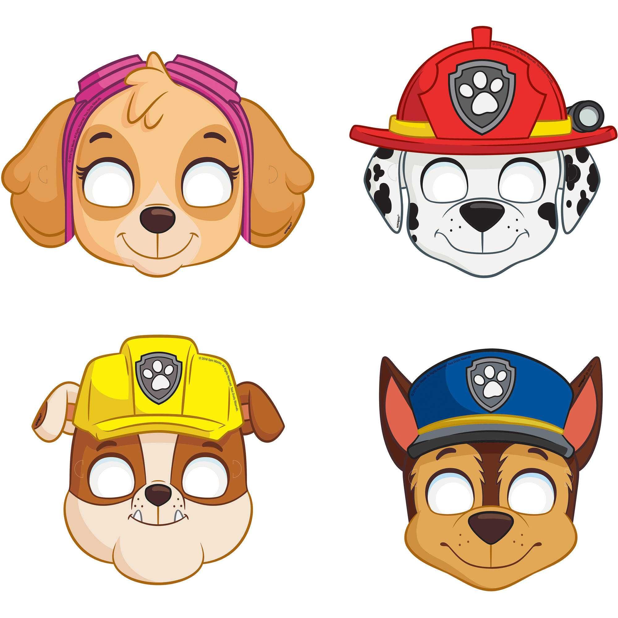 2000x2000 Images Of Paw Patrol Hd Pics Wallpaper Party Masks Assorted Count