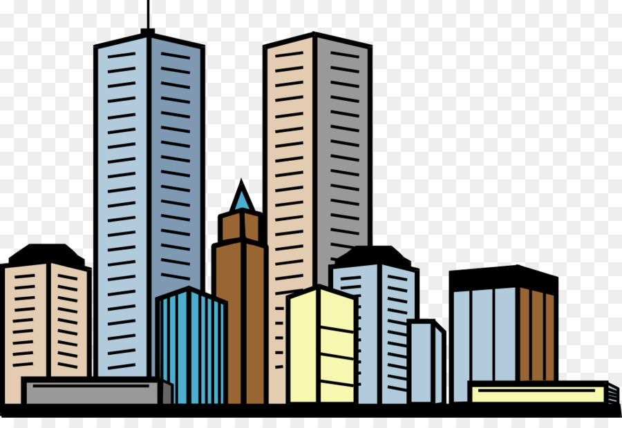 900x620 Building Skyscraper Apartment Clip Art