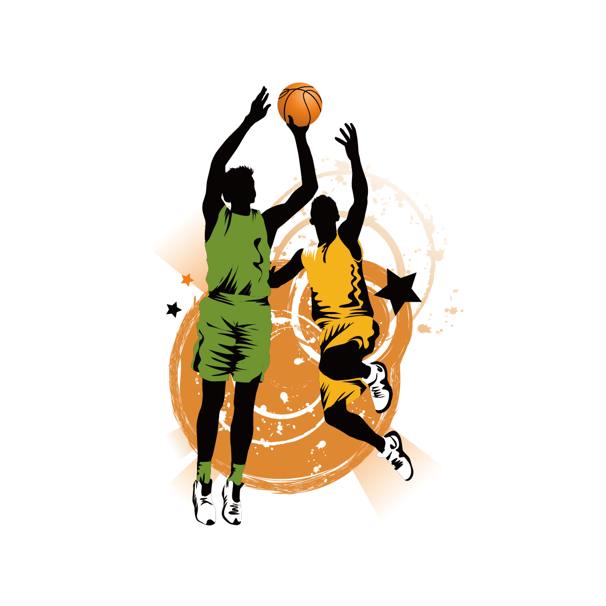 1181x1181 Basketball Slam Dunk Clip Art
