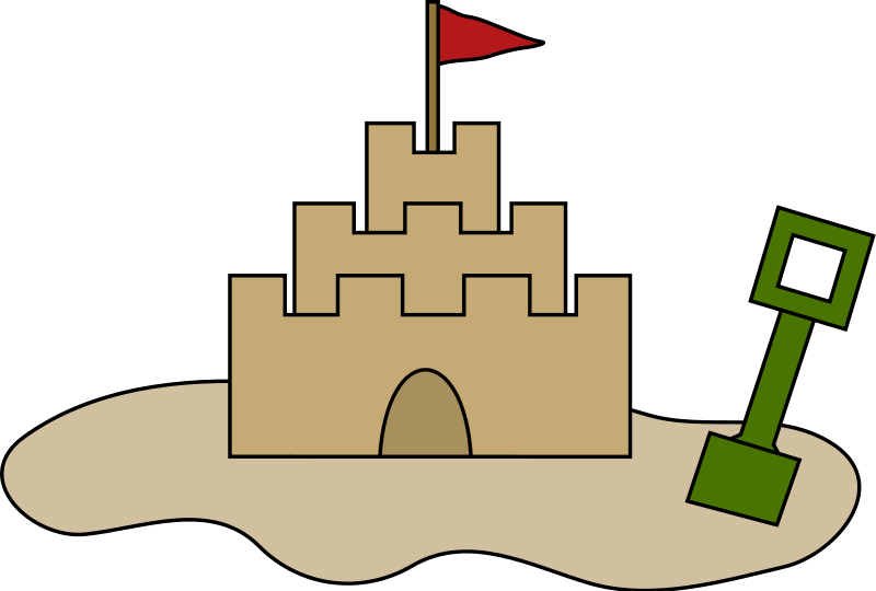 800x540 Castle Clipart Fortress