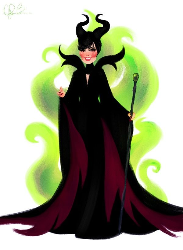 600x817 Kris Jenner As Maleficent Fairy Tales Sleeping Beauty