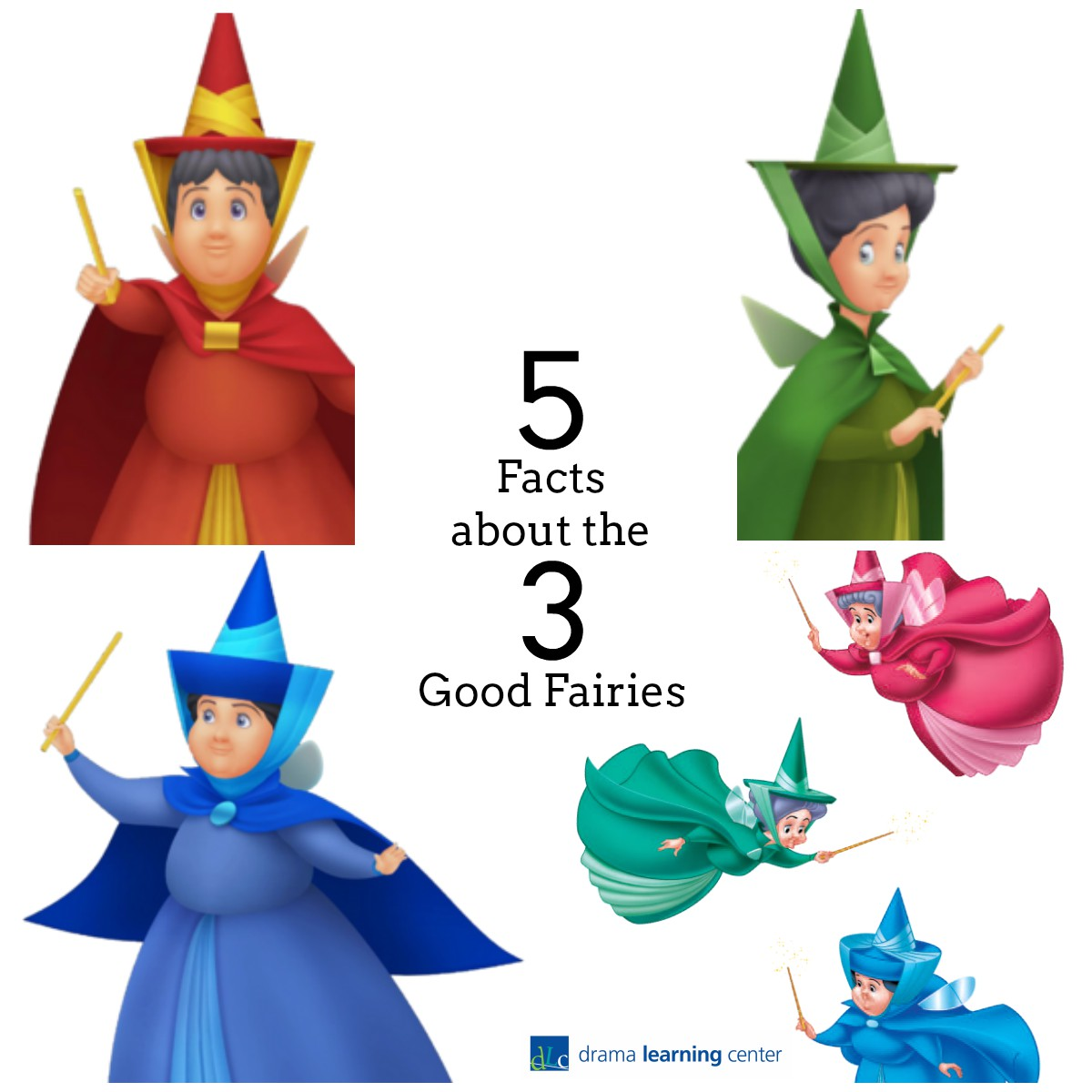 1200x1200 5 Facts About 3 Good Fairies Drama Learning Center