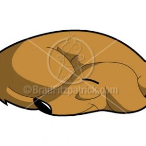 300x300 Cartoon Sleeping Dog Image Group
