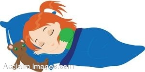 300x150 Sleeping Children Clip Art Free