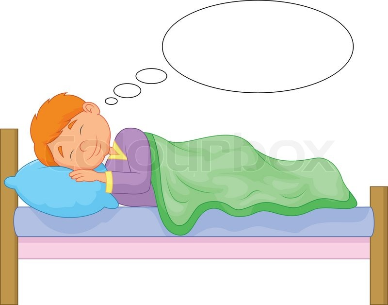 800x628 Vector Illustration Of Cartoon Boy Sleeping Stock Vector Colourbox