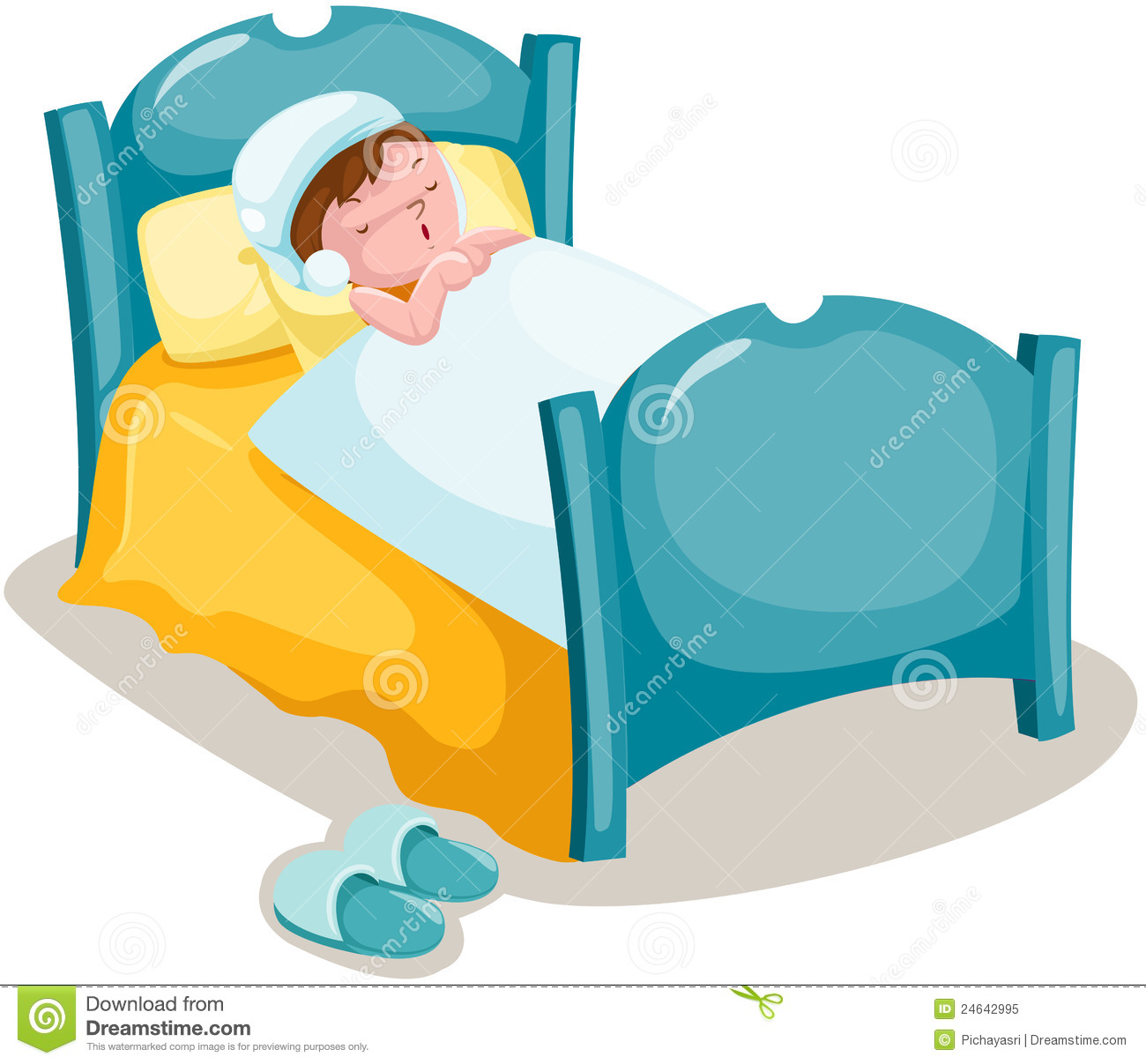 1300x1207 Clip Art Boy In Bed Sleeping His Clipart Clipground