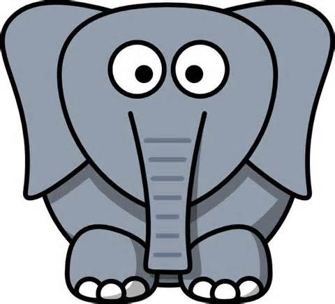 480x436 Elephant Head Clipart Free Collection Download And Share