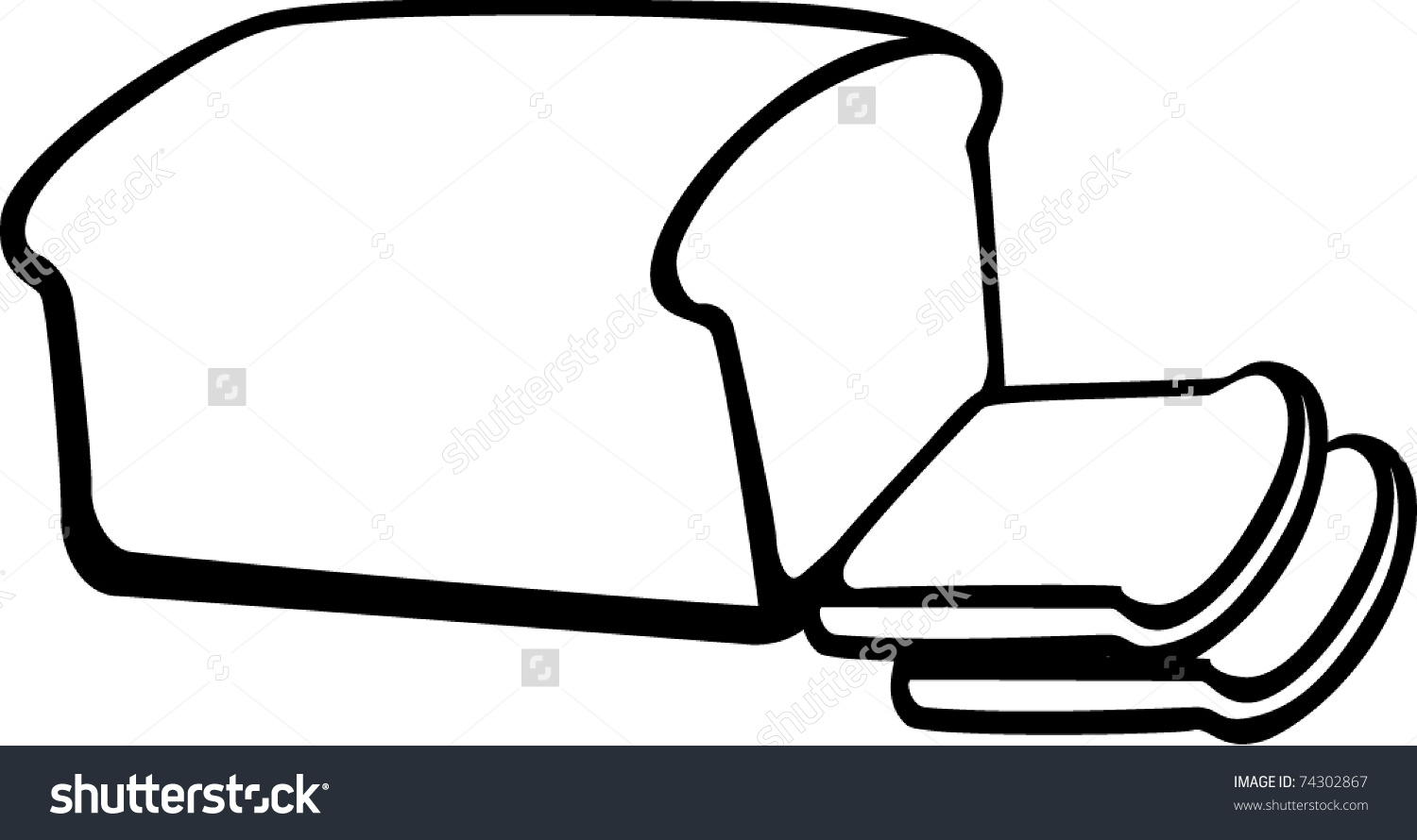 Slice Of Bread Clipart