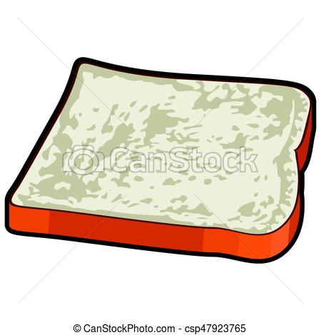 450x470 Isolated Slice Bread. Isolated Slice Of Bread On A White Clip