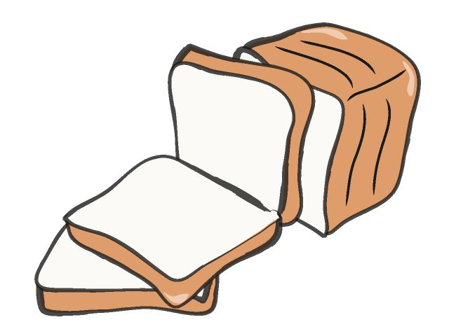 slice of bread clipart at getdrawings com free for personal use rh getdrawings com slice of bread clip art free slice of bread clipart