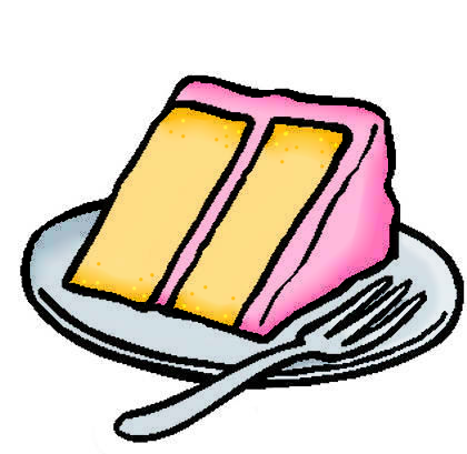 420x409 Cake Slice Colored By Snowshi