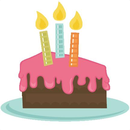 432x432 Slice Of Cake SVG file BirthdayBashSticker Pinterest Svg