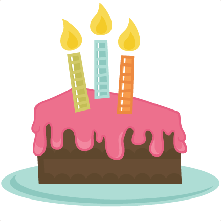 432x432 Slice Of Cake Svg File Birthdaybashsticker Svg