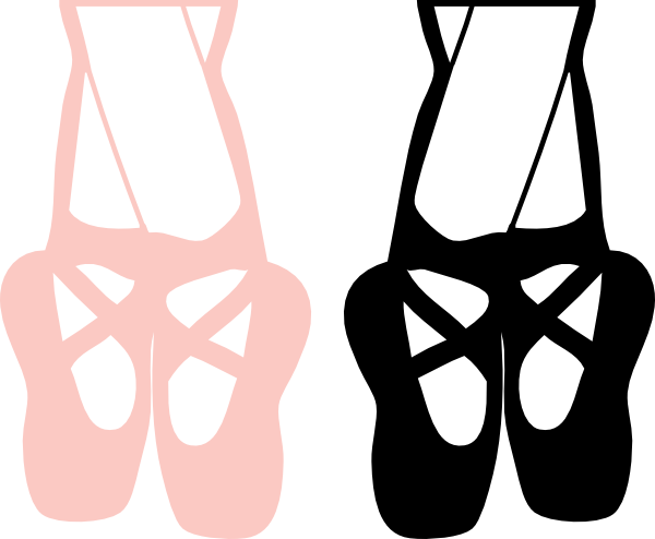 600x494 Clipart Of Ballet Shoes Slippers Free Download Clip Art