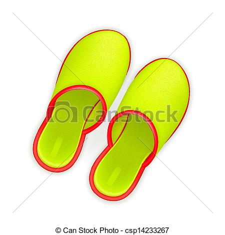 450x470 Slippers Clip Art Vector
