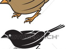 220x165 Small Bird Clipart Clipart Of Sparrow Small Bird K15299080 Search