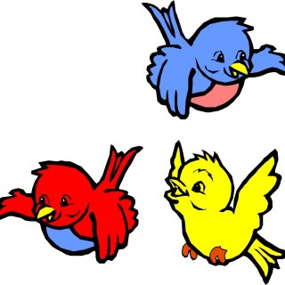 320x320 Tag For Flying Bird Png Image Animated Birds Clipart Clip Art