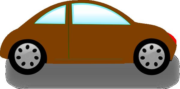 600x299 Brown Car Clip Art