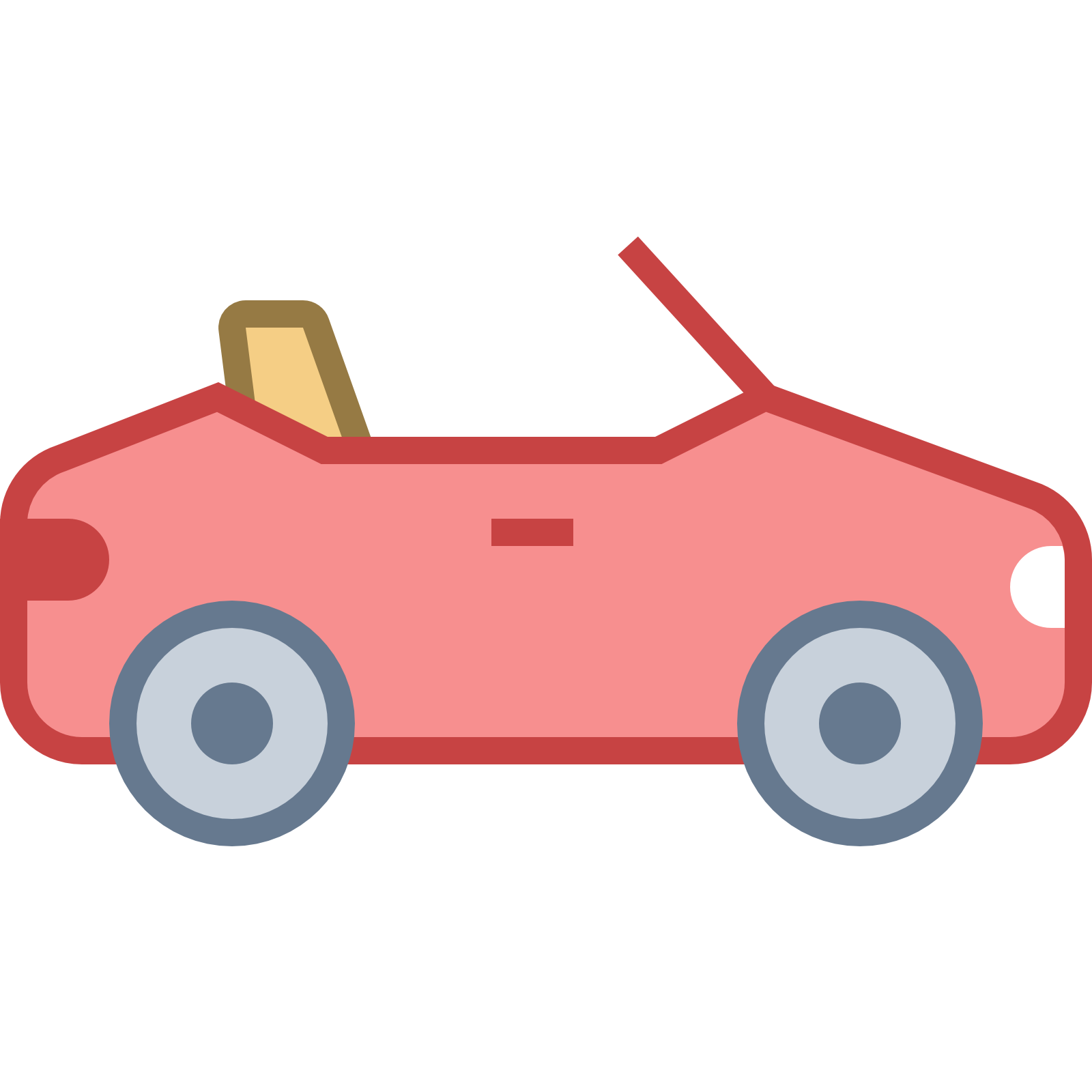 1600x1600 Convertible Car Icon Png Clipart