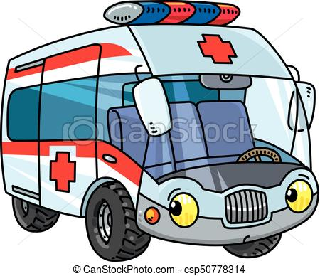 450x388 Funny Small Ambulance Car With Eyes. Ambulance Car. Small