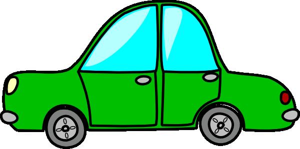 600x299 Green Car Clip Art