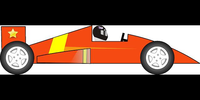 640x320 Small Orange Car Clipart Collection