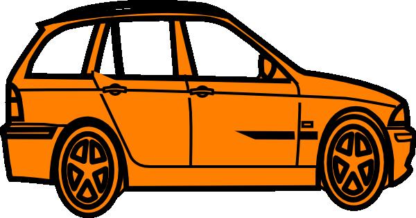 600x314 Best Photos Of Orange Car Clip Art
